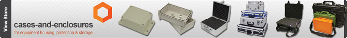Plastic and Aluminium Cases & Enclosures